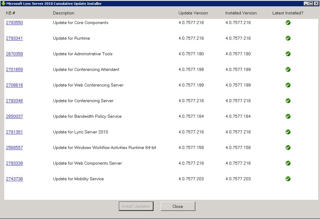 Best Practices for Installing Microsoft Lync CU – The Lync Dude